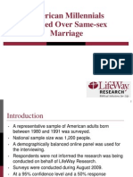 LwcF LifeWay Research Finds American Millennials Divided Over Same-sex Marriage PDF