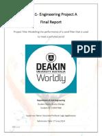 SEJ441 Project a Final Report