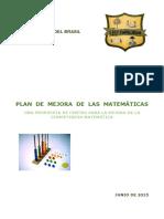 Plan Mejora de Las Matematicas Junio 2015