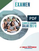 Examen UNAC 2017-2