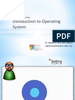 Lecture 5 Introduction to OS