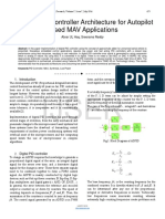 Efficient PID Controller Architecture for Autopilot Based MAV Applications