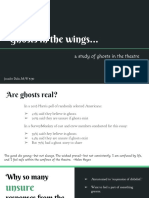 Ghosts in the Wings, a Study of Ghosts in the Theatre (slideshow)
