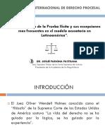 La Valoración de La Prueba Ilícita y Sus Excepciones Más Frecuentes en El Modelo Acusatorio en Latinoamérica - Pariona Pastrana