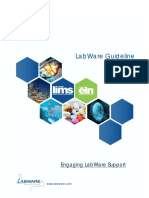 Engaging LabWare Support