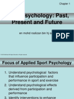 Sport Psychology Past Now and Future