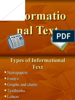 Informational Text 1