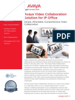 Avaya Video Collaboration Solution for IP Office UC7216