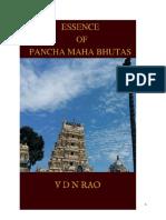 Essence of Pancha Maha Bhutas