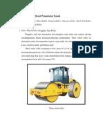 Klasifikasi Alat Berat Pemadatan Tanah Tugas Mektan