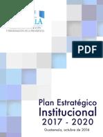 3.Documento PEI 2017 2020 Segeplan
