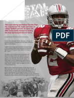 Crystal Clear - Ohio State Game Day Magazine - Terrelle