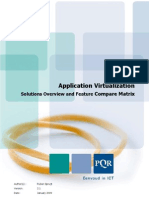 Application Virtualization Solutions Overview and Feature Matrix