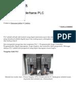 Penjelasan Sederhana PLC _ Rekayasa Listrik