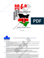 LIST OF KENYA COUNTIES AND WARDS