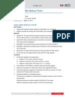 ACTi IP Utility 3.5.37 ReleaseNote
