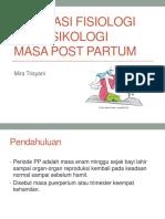 Adaptasi Fisiologi Dan Psikologi Masa Post Partum