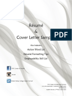Resume Packet FA13