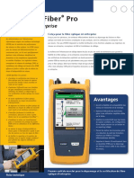 Documentation FLUKE - Réflectomètre OPTIFIBER PRO