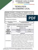 Tecnologos en Gobierno Local