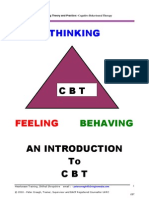 A Brief Introduction to Cognitive Behavioural Therapy (CBT)