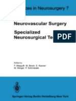 Advances Neurosurgery n 7 Neurovascular