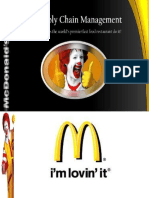 McDonald Supply Chain in Pakistan