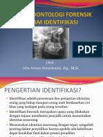 Peran Odontologi Forensik Dalam Identifikasi
