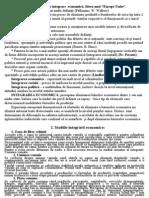 Integrare Economica Europeana Rezumat