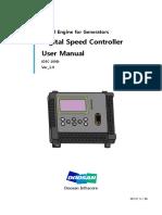Doosan Digital Speed Control