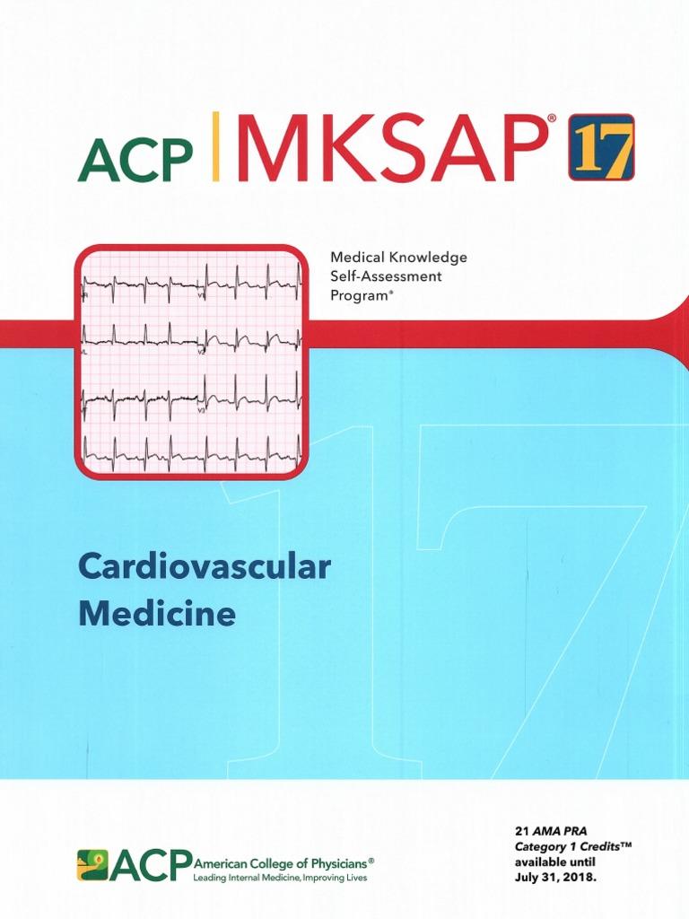 MKSAP 17 Cardiovascular System | Myocardial Infarction