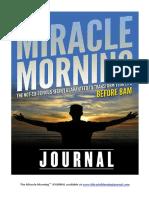 TMM Journal Sample