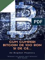 Bogdan Popescu - Cum Cumperi Bitcoin de 100 RON Si de Ce