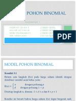 Model Pohon Binomial