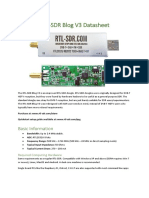 RTL SDR Blog V3 Datasheet