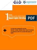 1-Week QuadCopter