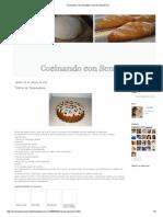Cocinando Con Sencillez_ Torta de Zanahoria