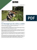 No Mossunguê que não conhece a solidão - Vida e Cidadania - Gazeta do Povo