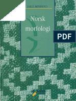 Rønhovd Jarle.-norsk Morfologi