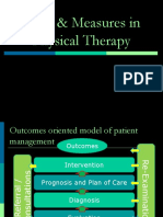Evaluation, Tests and Measures in Physical Therapy