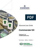 Commander SX Advanced User Guide
