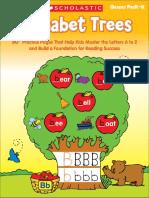 Alphabet Trees PreK-K