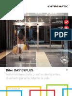 2. ES - Ditec DAS107PLUS Brochure