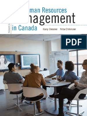 Human Resources Management in C - Gary Dessler   Human