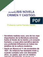 Analisis Novela Crimen y Castigo