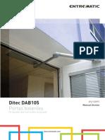 6. PT - Ditec DAB205 Manual Técnico
