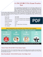 Check Point CCSA 156-215.80 PDF Exam Material - Latest 2018