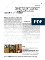 [Open Geosciences] A customized resistivity system for monitoring saturation and seepage in earthen levees installation and va.pdf