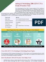Cisco 200-125 Networking Exam Practice Material