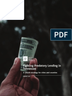 Fighting Predatory Lending in Tennessee - Metro Ideas Project